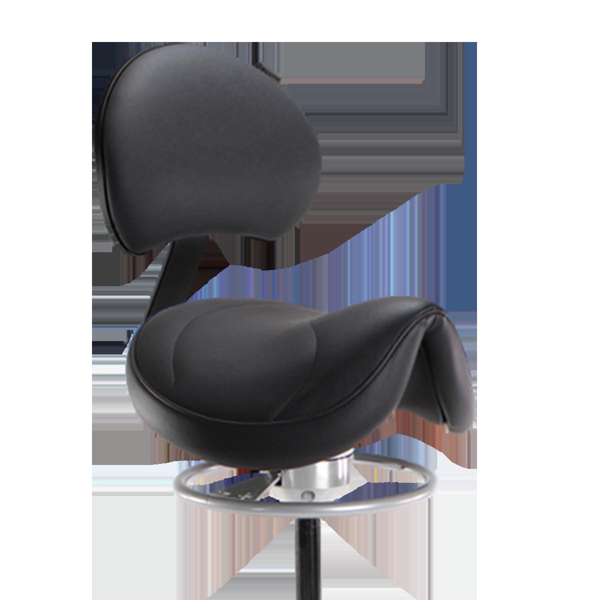 Score Amazone Balance with Back – Saddle Stool